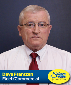 Dave Frantzen Stivers Ford Lincoln Des Moines Iowa New and Used Sales and Service Fleet Commercial Police Sales