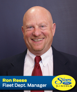 Ron Reese Stivers Ford Lincoln Des Moines Central Iowa New and Used Sales and Service Online biography at StiversFordIA.com