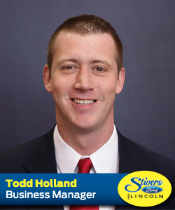 TODD HOLLAND STIVERS FORD LINCOLN DES MOINES WAUKEE IOWA SALES AND SERVICE